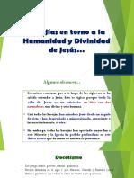 Herejias Entorno a La Humanidad y Divinidad de Jesús