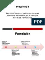 Py II. Formulación