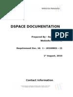 Webinito Dspace Documentation