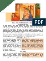 Común de Santa María - Adviento