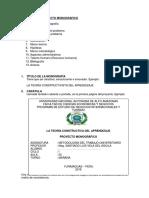Estructura Monografía NIT