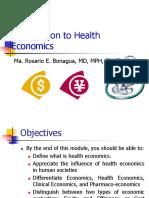Introduction to Health Economics2