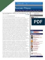 2007-06-20 Los Investigadores Críticos y Su Resentimiento (I) F.bermejo [75 de 3084]