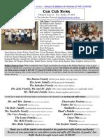 Cox News Volume 8 Issue No. 14