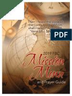2019 Mission Menu