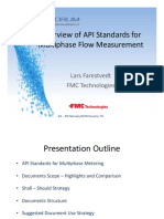 UPM 2016 - Lars -Overview of API Standards for Multiphase Flow Measurement