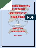 PREPARADOR C. SOCIALES 5°