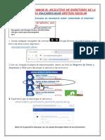 Pasos Para El Registro de Calificaciones en La Plataforma Carmenta