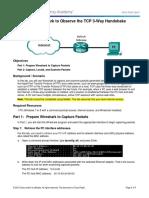 9.2.1.6 Lab - Using Wireshark to Observe the TCP 3-Way Handshake (3)