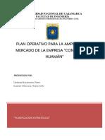 Plan Operativo Huamán-Cárdenas