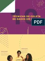10 TÉCNICAS DE COLETA DE DADOS EM DESIGN