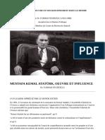 Atatürk, Oeuvre Et Influence