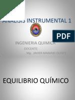 Tema 3.1 Equilibrio Químico