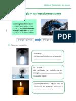 La Energía y Sus Transformaciones