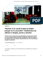 Nomás No Le Vendí El Alma Al Diablo Porque No Lo Encontré__ Testimonios de Adictos a Drogas, Porno y Alcohol - VICE
