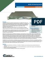 Comtech/EFData MCDD-100 MetaCarrier Carrier Identification Detecting Device Data Sheet