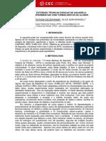 PROJETO DE EXTENSÃO TÉCNICAS BÁSICAS DE AQUARELA