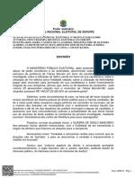 Diná Almeida - Ação de Investigação Judicial Eleitoral