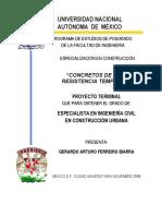 CONCRETOS DE ALTA RESISTENCIA TEMPRANA