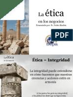 La e Tica en Los Negocios SEPA 2012