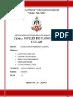 Niveles de Plomo en El Callao