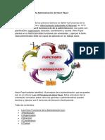 Las 5 Funciones de La Administracion de Henri Fayol