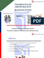 SESIÓN 01 Las Organizaciones