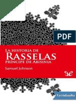 LA HISTORIA DE RASSELAS