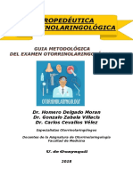 Guía Metodologica Otorrinolaringología
