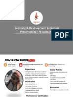 learning & development Evolution
