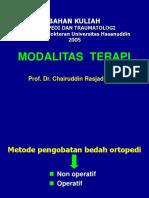 MODALITAS TERAPI