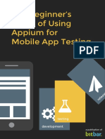eBook the Beginners Guide of Appium