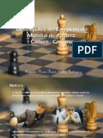 Armando Nerio Hanói Guédez Rodríguez - Desempates del Campeonato  Mundial de Ajedrez