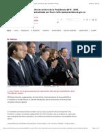 La Ley Zidres Es El Gran Paso Para El Desarrollo Del Campo Colombiano, Dice Presidente Santos