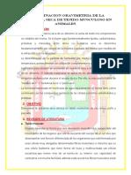 3er Informe de Bioquima
