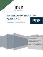 Investigacion Educativa Capitulo II