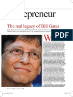 The Real Legacy of Bill Gates