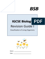 Revision Guide Biology I
