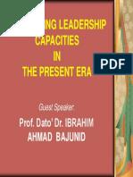 UNLEASHING LEADERSHIP CAPACITIES.ppt