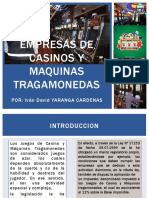 Casinos y Tragamonedas