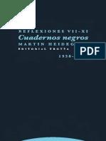 Cuadernos Negros (1938-1939) Reflexiones VII - XI.pdf