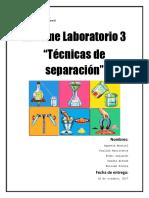 Laboratorio Química Técnicas de Separación
