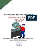 Maintenance and repair module2