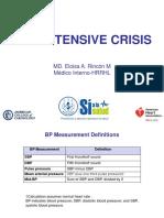 Hypertensive Crisis