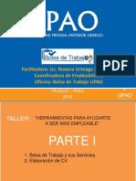 TALLER COMPLETO  HERRAMIENTAS PARA SER MAS EMPLEABLE - ING. AGRÓNOMA