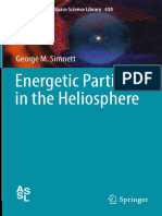 (Astrophysics and Space Science Library 438) George M. Simnett (Auth.)-Energetic Particles in the Heliosphere-Springer International Publishing (2017)