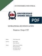 Estrategia de Innovacion - Grupo CST