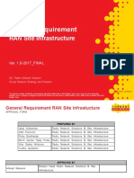 General Requirement_RAN Site Infrastructure v.01_FINAL