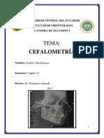 Informe Cefalometria Final