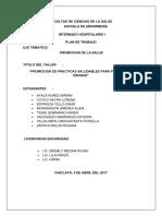 Sesion Educativa Internado 2017